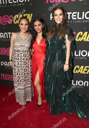 Miri Higareda, Martha Higareda and Claudia Alvarez