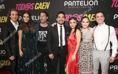 Eugenio Siller, Claudia Alvarez, Ariel Winograd, Omar Chaparro, Martha Higareda, Miri Higareda and Santigo Michel