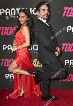 Martha Higareda and Omar Chaparro