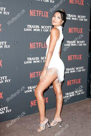 Editorial photo of Premiere of Netflix' Travis Scott: Look Mom I Can Fly, Santa Monica, USA - 27 Aug 2019
