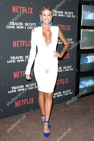 Tina Louise attends the premiere of Netflix' Travis Scott: Look Mom I Can Fly at the Barker Hangar in Santa Monica, California, USA 27 August 2019. The movie traces the Houston rapper's rise to super-stardom, focusing on the months surrounding the release of his album ASTROWORLD and is opening in the US on Netflix 28 August 2019.