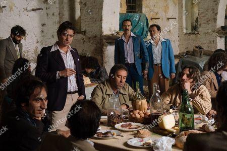 Riccardo Scamarcio as Santo Russo, Alessandro Tedeschi as Mario Barbieri and Alessio Pratico as Salvatore 'Slim' Mammone