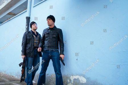 Alessio Pratico as Salvatore 'Slim' Mammone and Riccardo Scamarcio as Santo Russo