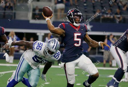 Editorial picture of Texans Cowboys Football, Arlington, USA - 24 Aug 2019