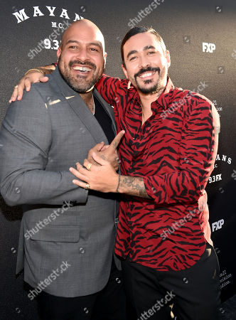 Editorial picture of 'Mayans M.C.' TV show Season 2 premiere, Arrivals, Pacific Cinerama Dome, Los Angeles, USA - 27 Aug 2019