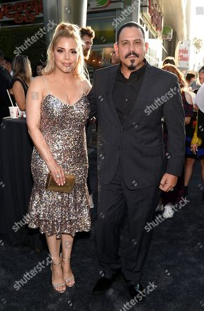 Editorial image of 'Mayans M.C.' TV show Season 2 premiere, Arrivals, Pacific Cinerama Dome, Los Angeles, USA - 27 Aug 2019