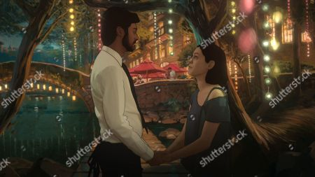 Siddharth Dhananjay as Sam and Rosa Salazar as Alma