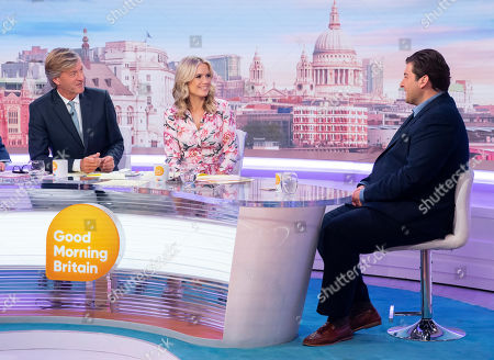 Editorial photo of 'Good Morning Britain' TV show, London, UK - 28 Aug 2019