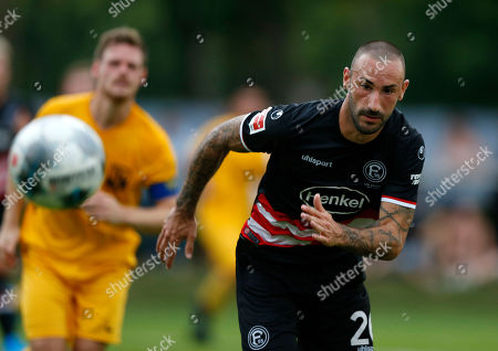 Editorial photo of Football: Friendly match, Meerbusch, Germany - 27 Aug 2019