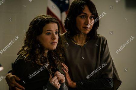 Addison Holley as Alex Cooper and Elisa Moolecherry as Carol Lynn