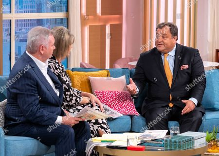 Editorial photo of 'This Morning' TV show, London, UK - 28 Aug 2019