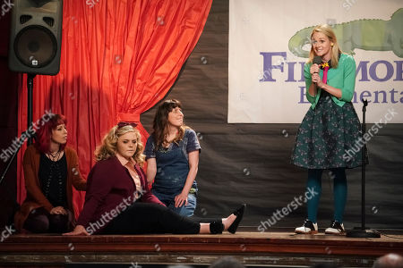 Kathryn Renee Thomas as Deb Adler, Kelly Schumann as Beverly, Caitlin Barlow as Cecilia Cannon and Katie O'Brien as Mary Louise Bennigan