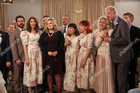Kelly Schumann as Beverly, Kathryn Renee Thomas as Deb Adler, Caitlin Barlow as Cecilia Cannon, Alley Mills as Joanna Bennigan and Ed Begley Jnr as John-Paul Bennigan