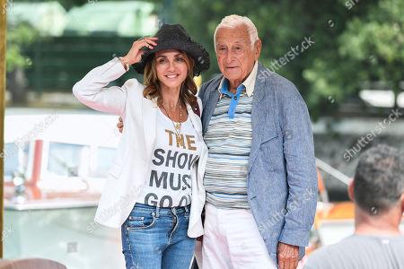 Fulvio Lucisano with daughter Figlia Paola