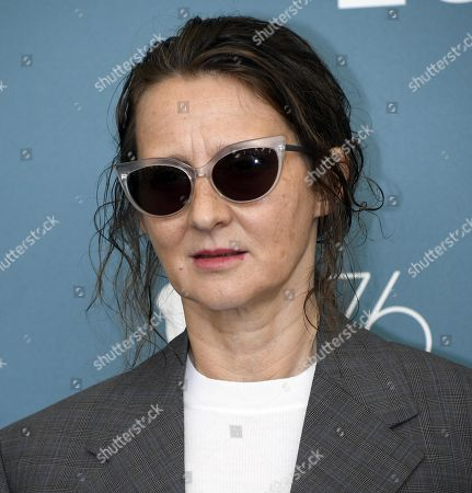 President of the 'Venezia 76' jury Argentinian filmmaker Lucrecia Martel poses during a photocall at 76th annual Venice International Film Festival, in Venice, Italy, 28 August 2019. Mastronardi will host the opening ceremony. The festival runs from 28 August to 07 September.