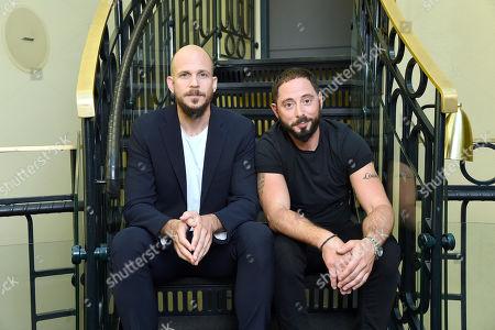 Gustaf Skarsgard and Matias Varela