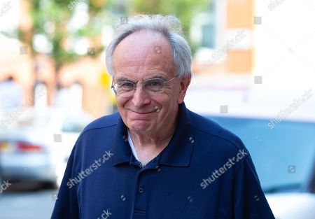 Stock Photo of Peter Bone MP, MP for Wellingborough, out and about in Westminster.