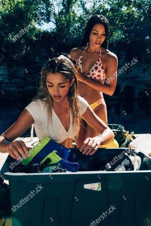 Sistine Rose Stallone as Nicole and Corinne Bishop as Sasha