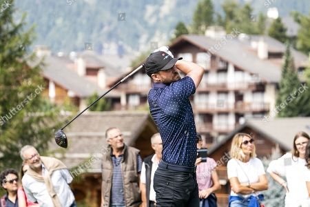 Editorial picture of Pro-am golf tournament in Crans-Montana, Switzerland - 28 Aug 2019