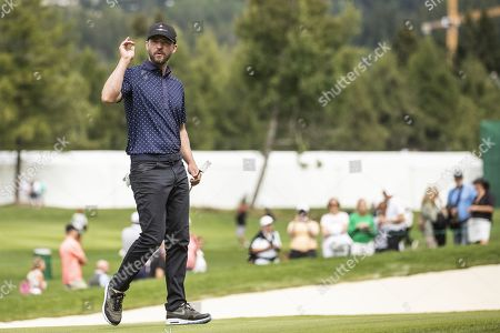 Editorial image of Pro-am golf tournament in Crans-Montana, Switzerland - 28 Aug 2019