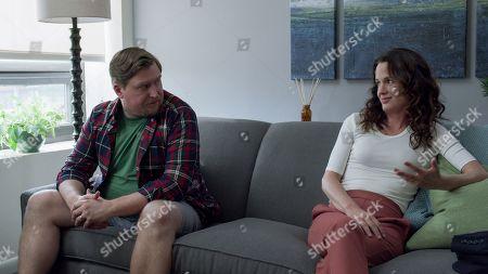 Michael Chernus as Kyle and Elizabeth Reaser as Andi