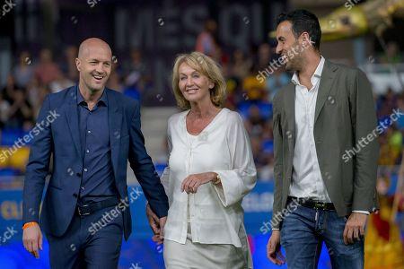 Editorial image of Barcelona open Johan Cruyff Stadium, Spain - 27 Aug 2019
