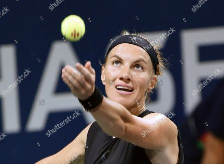 Svetlana Kuznetsova of Russia in action during the tournament