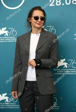 Jury President Lucrecia Martel poses for photographers at the photo call for the jury at the 76th edition of the Venice Film Festival in Venice, Italy