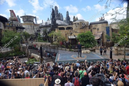 Editorial picture of Star Wars Galaxy's Edge grand opening, Orlando, Florida - 28 Aug 2019