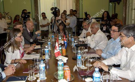 Editorial image of Canadian Foreign Minister Chrystia Freeland arrives in Havana, Cuba - 28 Aug 2019