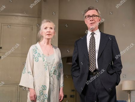 Stock Photo of Alex Jennings as MP, Roben Hesketh, Lindsay Duncan as Diana Hesketh