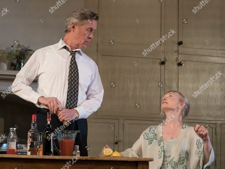Alex Jennings as MP, Roben Hesketh, Lindsay Duncan as Diana Hesketh