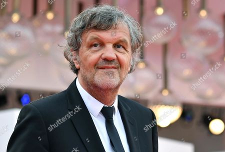President of the Venezia Opera Prima 'Luigi De Laurentiis' jury Serbian film director Emir Kusturica arrives for the opening ceremony and screening of 'La Verite'' at the 76th annual Venice International Film Festival, in Venice, Italy, 28 August 2019. The festival runs from 28 August to 07 September.