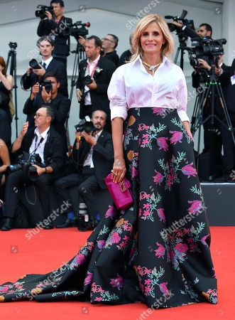 Isabella Ferrari arrives for the opening ceremony and screening of 'La Verite'' at the 76th annual Venice International Film Festival, in Venice, Italy, 28 August 2019. The festival runs from 28 August to 07 September.