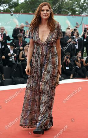 President of the 'Orizzonti' jury Italian filmmaker Susanna Nicchiarelli, arrives for the opening ceremony and screening of 'La Verite'' at the 76th annual Venice International Film Festival, in Venice, Italy, 28 August 2019. The festival runs from 28 August to 07 September.