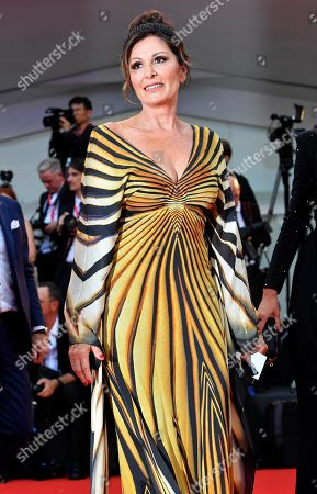 Stock Photo of Daniela Santanche', member of Fratelli d'Italia (Brothers of Italy) party, arrives for the opening ceremony and screening of 'La Verite'' at the 76th annual Venice International Film Festival, in Venice, Italy, 28 August 2018. The festival runs from 28 August to 07 September.