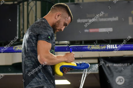 Editorial photo of Matchroom Boxing Public Workout, Boxing, York Hall, Bethnal Green, London, United Kingdom - 28 Aug 2019