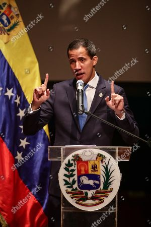 Editorial picture of Guaido announces the creation of a 'government center' with Leopoldo Lopez in charge, Caracas, Venezuela - 28 Aug 2019
