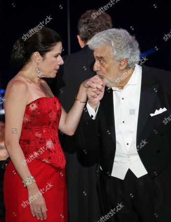 Editorial photo of Placido Domingo, Szeged, Hungary - 28 Aug 2019