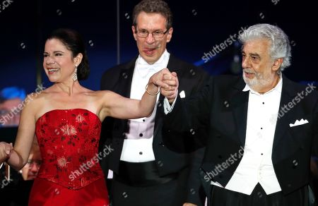 Editorial image of Placido Domingo, Szeged, Hungary - 28 Aug 2019
