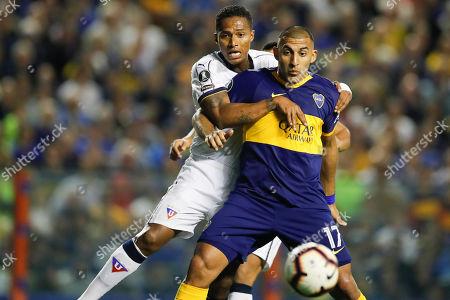 Editorial picture of Ecuador Soccer Copa Libertadores, Buenos Aires, Argentina - 28 Aug 2019