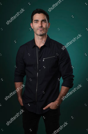 """Tyler Hoechlin, a cast member in the film """"Can You Keep a Secret?"""", poses for a portrait, in Los Angeles"""