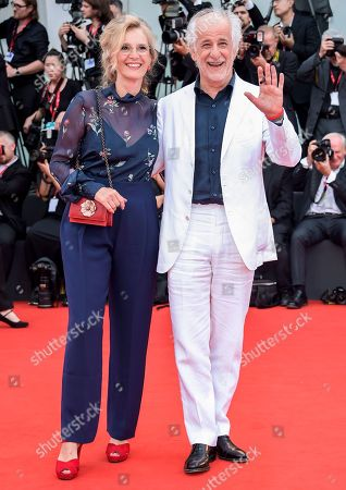 Stock Image of Manuela Lamanna and Toni Servillo