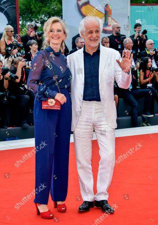 Stock Image of Manuela Lamanna and Tony Servillo