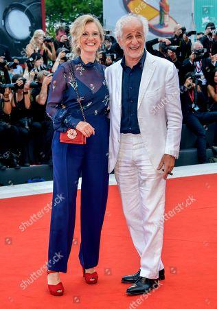 Manuela Lamanna and Tony Servillo