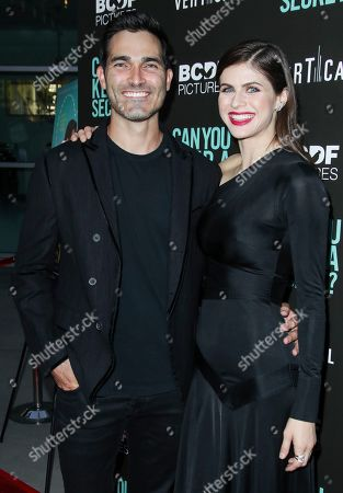 Tyler Hoechlin and Alexandra Daddario