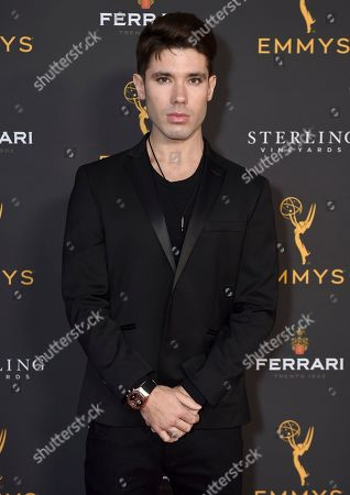 Kristos Andrews is seen at the 2019 Daytime Programming Peer Group Celebration on at the Television Academy in North Hollywood, Calif