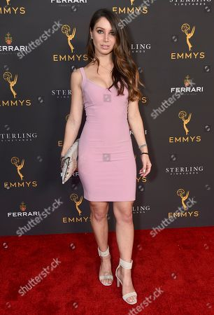 Celeste Fianna is seen at the 2019 Daytime Programming Peer Group Celebration on at the Television Academy in North Hollywood, Calif