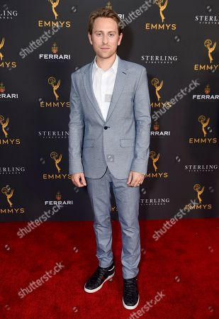 Eric Nelsen is seen at the 2019 Daytime Programming Peer Group Celebration on at the Television Academy in North Hollywood, Calif