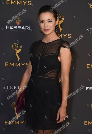 Teresa Castillo is seen at the 2019 Daytime Programming Peer Group Celebration on at the Television Academy in North Hollywood, Calif